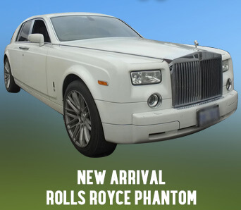Phantom Limo Rentals for Wedding